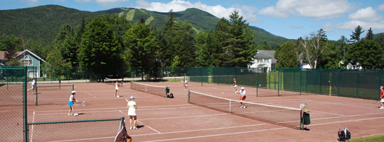 Waterville Valley, NH Tennis Camp
